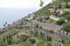 Крепость Alanya Kalesi (Турция. Аланья)