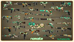 Namaste - CS:GO custom weapon finishes by ChemicalAlia