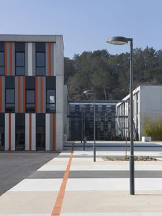NB Architects, Albert Einstein High School, Bagnols sur Cèze