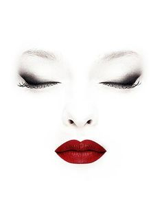 Beauty | Red Lips | Face | Make Up