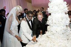 NeNe Leakes and Gregg Cut Their Wedding Cake
