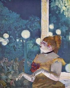 The Cafe Concert (The Song of the Dog) - Edgar Degas