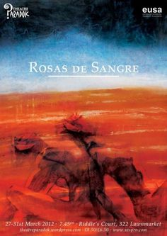'Rosas de Sangre' Written and Directed by Leonie-Rae Luhrmann    Worked initially as Lighting Designer, and then Technical Manager on this site specific show for 'Theatre Paradok' at Edinburgh University in the Spring of 2012. Used LEDs to get vivid colours without a massive budget.