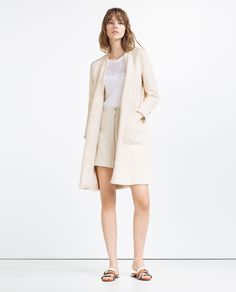 ZARA - WOMAN - PIPED COAT