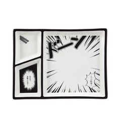 サンアート/Sun Art - Comic Plate -美味い・・・--WHITE | RESTIR リステア