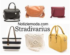 Borse Stradivarius primavera estate 2016 moda donna