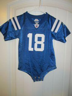 5f15b50f1 Peyton Manning - Indianapolis Colts Jersey - Reebok infant 24 months   Reebok  IndianapolisColts Toddler