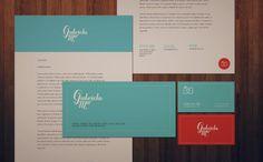 I love her footer on the letterhead. Good idea for email signature Letterhead Examples, Letterhead Design, Stationery Design, Typography Design, Packaging Design, Branding Design, Logo Design, Corporate Design, Corporate Identity