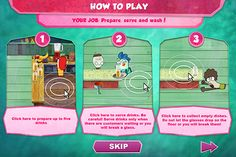 Fish Hooks Online Game by Carola Lucia, via Behance www.cartelpoker.com