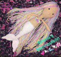 Preciosa la sirena de Tania Gonzalez Mauleón, desde México. Dreadlocks, Photo And Video, Hair Styles, Beauty, Instagram, Mermaids, Patterns, Street, Pictures
