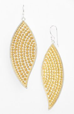 Anna+Beck+'Gili'+Leaf+Drop+Earrings+available+at+#Nordstrom