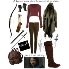 """""""Aragorn"""" by edw632 on Polyvore I don't think I've ever thought that I actually NEEDED an outfit.. until now."""