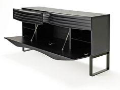 Acheter en ligne Tide buffet | buffet avec tiroirs By horm.it, buffet laquée design Karim Rashid
