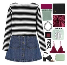 """""""☾ yoins 19"""" by thundxrstorms ❤ liked on Polyvore featuring Monki, Rebecca Minkoff, Bobbi Brown Cosmetics, JFR, Surya, AT-A-GLANCE, yoins, yoinscollection, loveyoins and syds25kchallengeday2"""