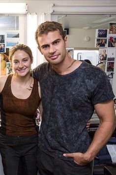 Ok even if Theo and Shai aren't dating, it still is really cool that they are like best friends... Theo seems like he would be so cool to film a movie with and the same with Shai