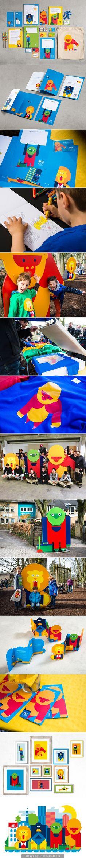 BVE Kids Branding designed by EIGA Design