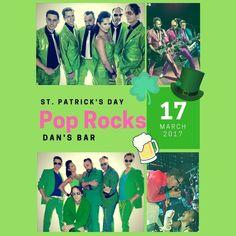 Walnut Creek, Mar 17: Pop Rocks at Dan's Irish Sports Bar