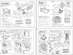 Cell Organelles and Biomolecules coloring sheet Biology
