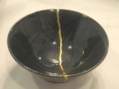 kintsugi bowl/ Ring the bells that still can ring/ forget your precious offering/ there is a crack - a crack in everything/ ...that's how the light gets in. (Leonhard Cohen)