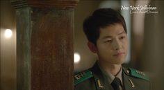 Song Joong-Ki 송중기 as Yoo Shi-Jin ~ Episode 04
