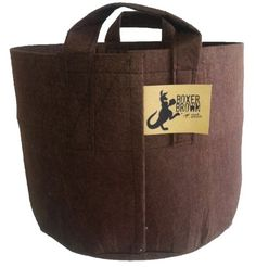 The Boxer Brown is the most durable Root Pouch yet. With strong, breathable fabric made from recycled water bottles and featuring an industrial lockstitch technique with finished seams, the Boxer Brown pouch will stay tough season after season. Boxer, Best Noise Cancelling Headphones, Portable Greenhouse, Grow Tent, Grow Bags, Gardening Supplies, Gardening Tools, Plant Sale, Upcycling