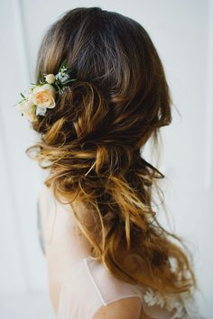 The bride Wedding hairstyle