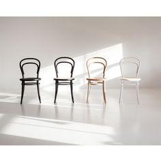No14 stol, natur/rotting i gruppen Møbler / Stoler / Stoler hos ROOM21.no (124367)