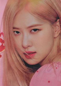 """""""i'm in love with this beautiful woman"""" Yg Entertainment, K Pop, South Korean Girls, Korean Girl Groups, Rapper, Rose Icon, Rose Park, Blackpink Photos, Park Chaeyoung"""