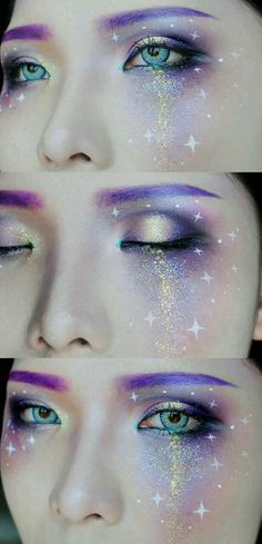 augenbrauen lila galaxy augen make up augenbrauen lila galaxy augen make up Related posts: Make-up Gold Eyeliner natürlichen Make-up Look Party Make-up whereetoget.it fasching schminke glitzer augen make up gold sternchen Sfx Makeup, Cosplay Makeup, Costume Makeup, Beauty Makeup, Makeup Brush, Rave Eye Makeup, Makeup Eyebrows, Eyeliner, Fashing Make Up