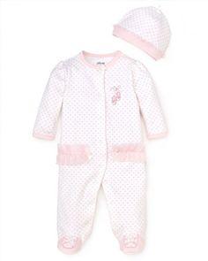 14.00$  Buy here - http://vijpk.justgood.pw/vig/item.php?t=1w804kg4074 - Little Me Infant Girl's Prima Ballerina Footie - Sizes 3-9 Months 14.00$