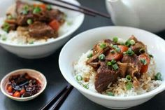 chinese style braised bef
