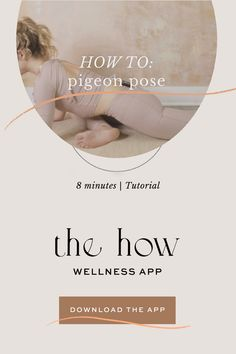 Learn alignment cues + tips on how to practice your most gratifying pigeon yet! Which yoga poses do you want tutorials for next? If you haven't downloaded THE HOW wellness app yet, do it now and get access to over 50 practices, conscious conversations, tutorials, guided meditations, workouts and everything else you need to create a daily self-care ritual that truly uplift and elevate you. Download it now and receive daily reminders, journal prompts and love straight from me to you. | Miki Ash Yoga Mantras, Yoga Quotes, Pigeon Pose, Yoga Photography, Yoga Benefits, Yoga Sequences, Self Discovery, Yoga Flow, Guided Meditation