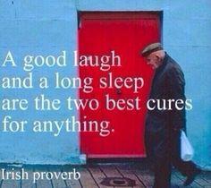 Irish Proverb, and good advice