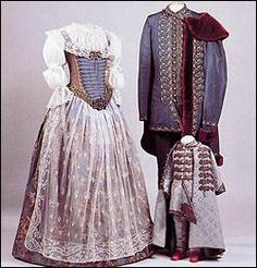 Costumes of the Hungarian aristocracy, 18th century, Hungarian National Museum