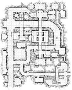 I don't normally spread a big map release over several months, but this one I seem to be taking my damned sweet time at. The goal is to draw up a dungeon based upon unreasonably large hallways. The...