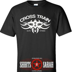 Cross Train Workout Shirt - Tattoo Style Cool Shirts For Working Out Gym Tank Tanks Mens Womens Apparel