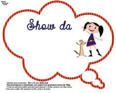 Plaquinhas Divertidas Show da Luna                                                                                                                                                                                 Mais Alice, Birthday Parties, Clip Art, Party, Tags, Toddler Boy Birthday, Birthday Party Ideas, Ideas Para Fiestas, Hilarious