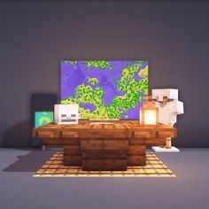 minecraft table in game . minecraft table and chairs . minecraft table ideas in game . Minecraft Kunst, Minecraft Building Guide, Minecraft Welten, Minecraft Medieval, Minecraft Plans, Minecraft Room, Minecraft Tutorial, Minecraft Blueprints, Cool Minecraft Houses