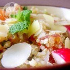 Veganer Quinoa Salat mit Gemüse @ de.allrecipes.com