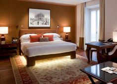 FOUR SEASON HOTEL IN MILAN BED by Portoflex