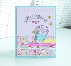 Chez Parmentier: Simon Says Stamp Feb card-kit | coffee and friends