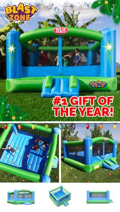 Bounce inflatables make the perfect gift this season! Hours of affordable fun for everyone in this gigantic indoor-outdoor bounce jumper. Browse an extensive selection of awesome designs that kids love at www.BlastZone.com #BigOlBouncer