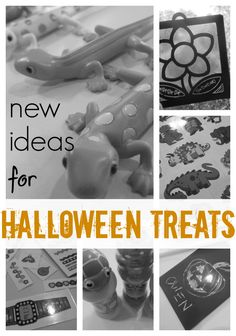 new ideas for halloween treats: alternatives to candy | great ideas for home or school parties. . . sponsored post for @Melissa Squires & Doug Toys #weteach