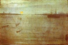 james mcneill whistler | Whistler Nocturne Blue and Gold Southampton Water