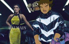 Campanha Balman pelo Tumblr Pokemon&Fashion com Kim Kardashian