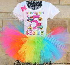 My Little Pony Birthday Outfit Girl Dinosaur Birthday, Care Bear Birthday, My Little Pony Birthday Party, Trolls Birthday Party, Troll Party, Birthday Party Outfits, Birthday Tutu, Birthday Shirts, Birthday Ideas