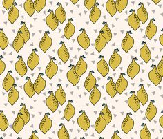 ©  Copyright  Andrea Lauren -  You are permitted to sell items you make with this fabric, but request you credit Andrea Lauren as the designer. Coordinates: Solids -- Warm, Solids - Cool, Dots  View the entire Fruit Collection