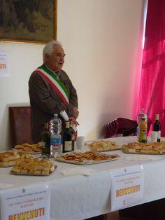 Festa del PleinAir 2014 #castrocaroterme #terradelsole Salone comunale - Il sindaco Luigi Pieraccini