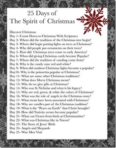25 Days of The Spirit of Christmas - thethingsilovemost.blogspot.com
