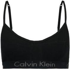 Calvin Klein Underwear UNLINED BRALETTE Bustier (1.180 UYU) ❤ liked on Polyvore featuring intimates, bras, calvin klein underwear, bustier bras and bralette bras